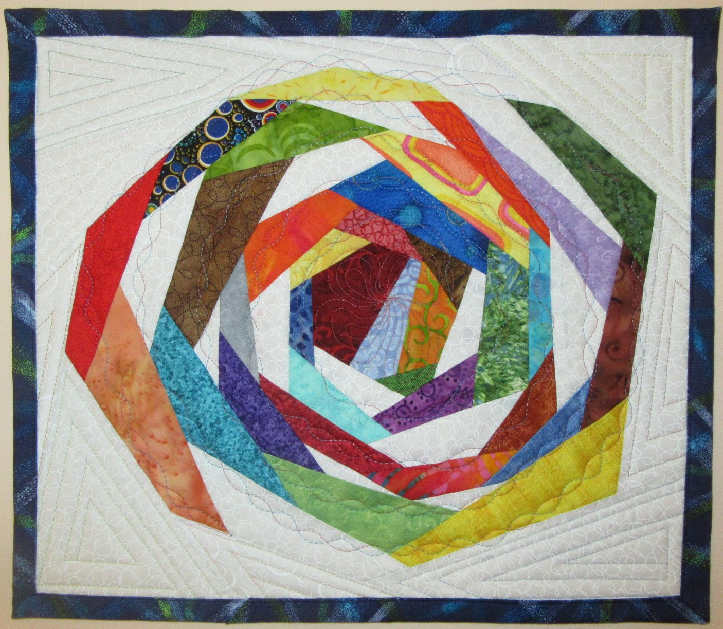 Circles And Curves Gallery Art Quilts By Sharon