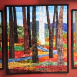 Custom Triptych Autumn Trees