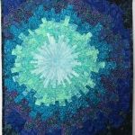 CUSTOM Teal Blue Starburst