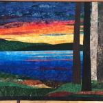 custom landscape sunset on Lake