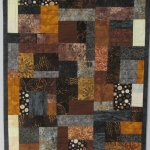 Bright Blacks and Browns Mosaic