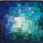 Blue Teal Green Mosaic