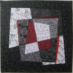 Fractured Blocks 2 Small Art Quilt