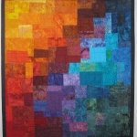Multi Mosaic Art Quilt 3
