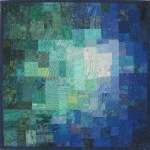 Blue Green Teal Mosaic