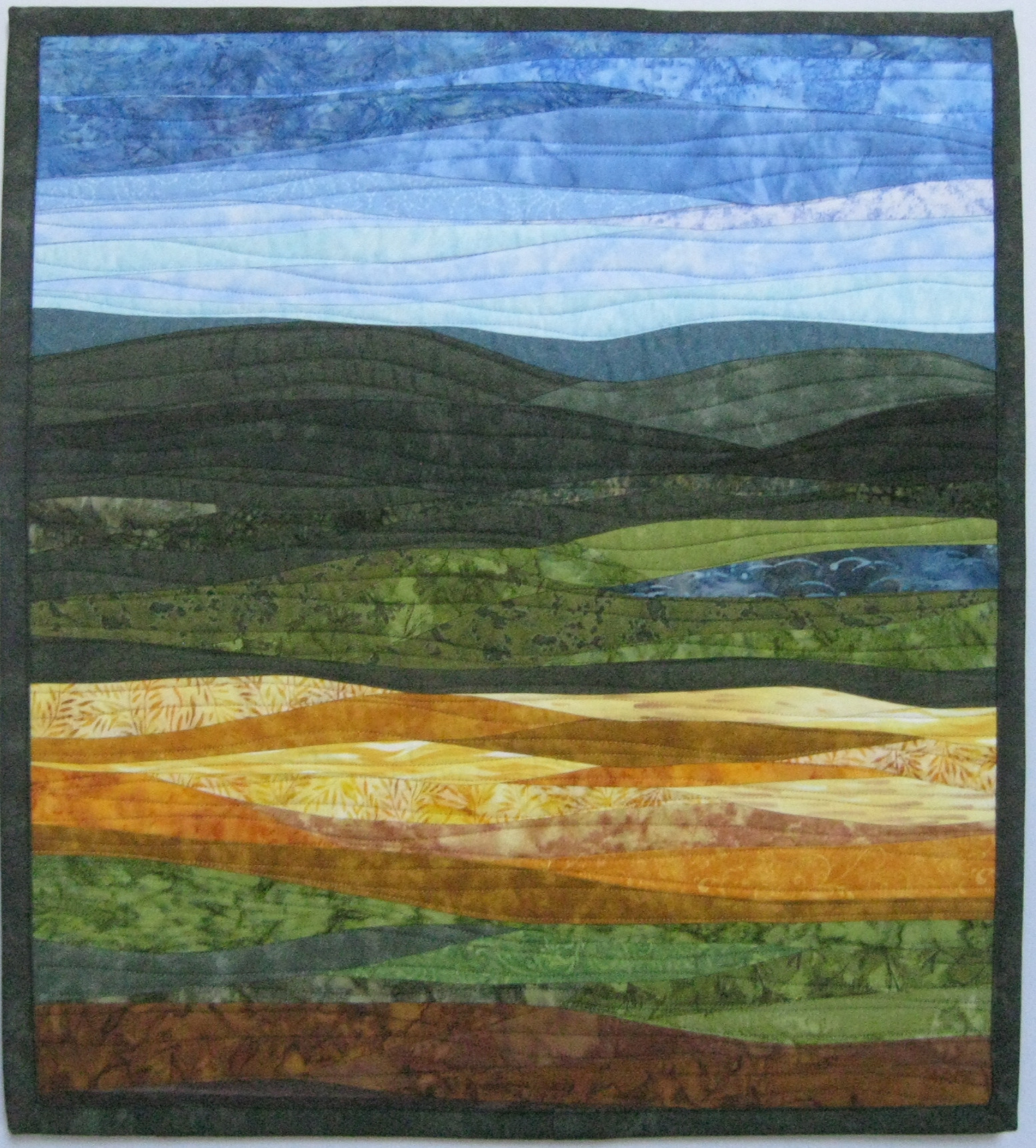 Landscapes quilts gallery art quilts by sharon for Landscape images