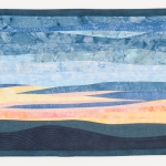 Quiet Sunset Art Quilt
