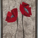 Two Red Poppies 3