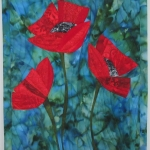 Three Red Poppies 3