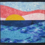 Abstract Sunrise Small