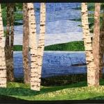 Birch Trees 10 at the Lake