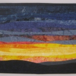 Sunset 22 Art Quilt