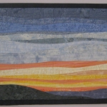 Sunrise 2 Art Quilt
