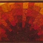 Blocky Red Sun