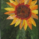 Wonky Sunflower