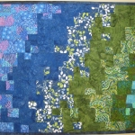 Gardens and Ponds Art Quilt