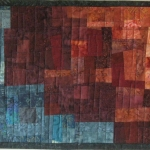 Cascading Color Art Quilt