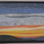 Sunrise 2 Art Quilt