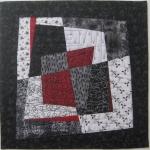 Fractured Blocks 1 Small Art Quilt