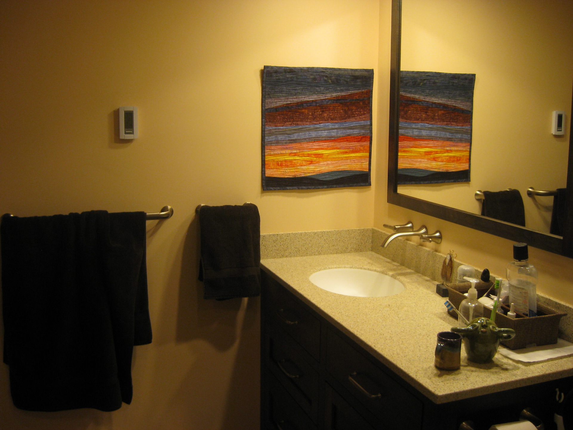 Art Quilts for Your Bathroom - Art Quilts by Sharon