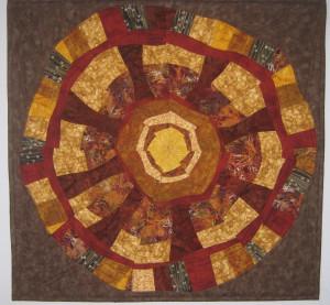 Adriennes mandala quilt