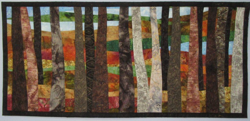 Abstract Autumn Trees