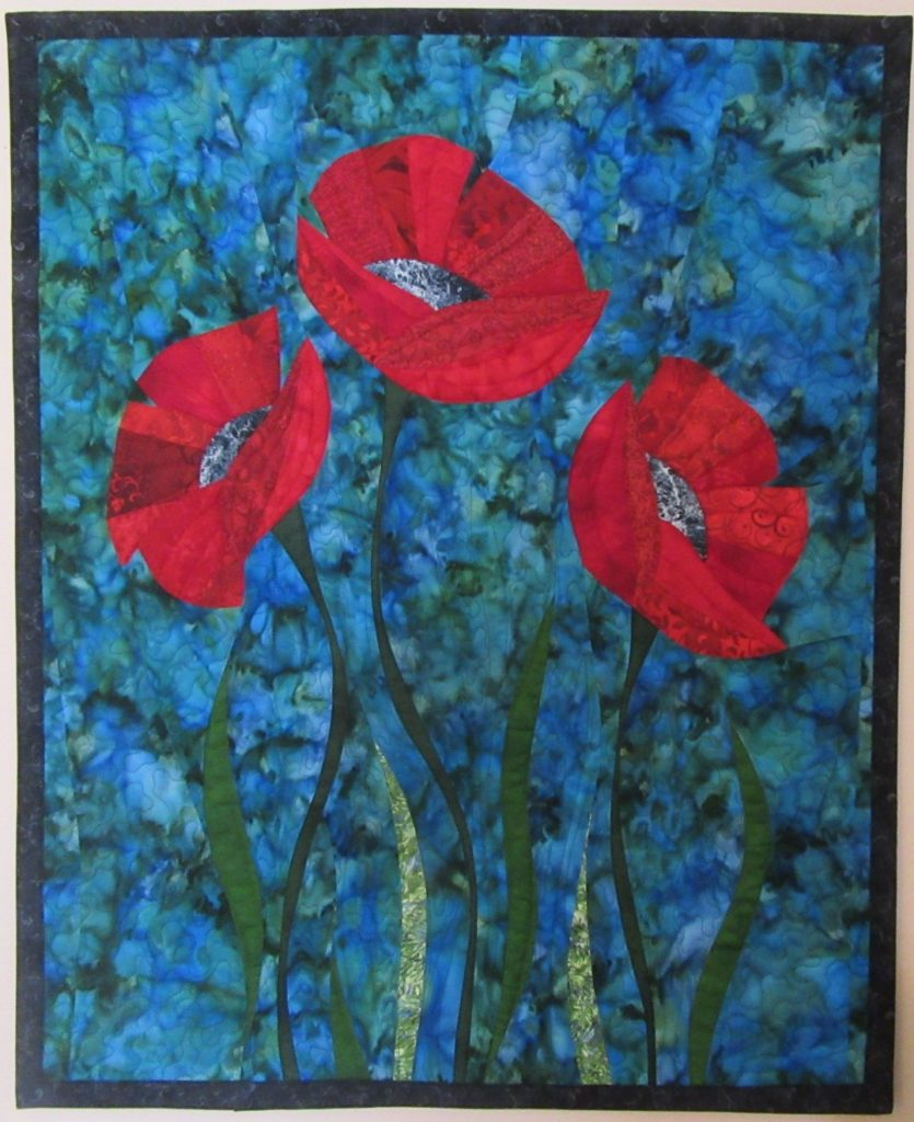 Three Red Poppies CUSTOM March 2017