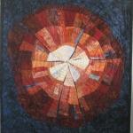 Circles of Color Art Quilt