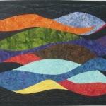 Tropical Colors Art Quilt
