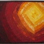 Art Quilt Heat Waves