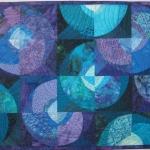 Purple Teal Circles