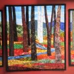 Custom Triptych Autumn Trees