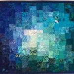 Blue Teal Green Mosaic