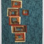 Balancing Squares Art Quilt