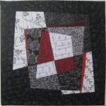 Fractured Blocks 2 Small Art Quilt