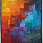 Multi Mosaic Art Quilt 3