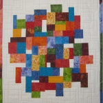 Multi mosaic with white