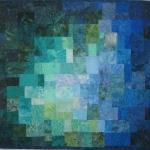 Teal Blue Mosaic