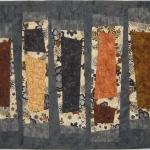 Wonky Grey Black Brown Columns