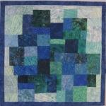 Blue Green Mosaic Small