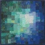 Blue Green Teal Mosaic
