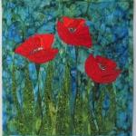 Three Red Poppies 3