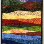 Abstract colorful landscape 10