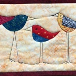 Three Tall Wacky Birds