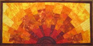 Blocky Sun 2 (Bowmans quilt) SOLD