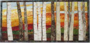 Birch Trees 7 in Autumn